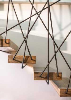 Sparks Escalier Metallique Acier Industriel Sur Mesure